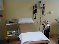 The Minor Emergency and Treatment room